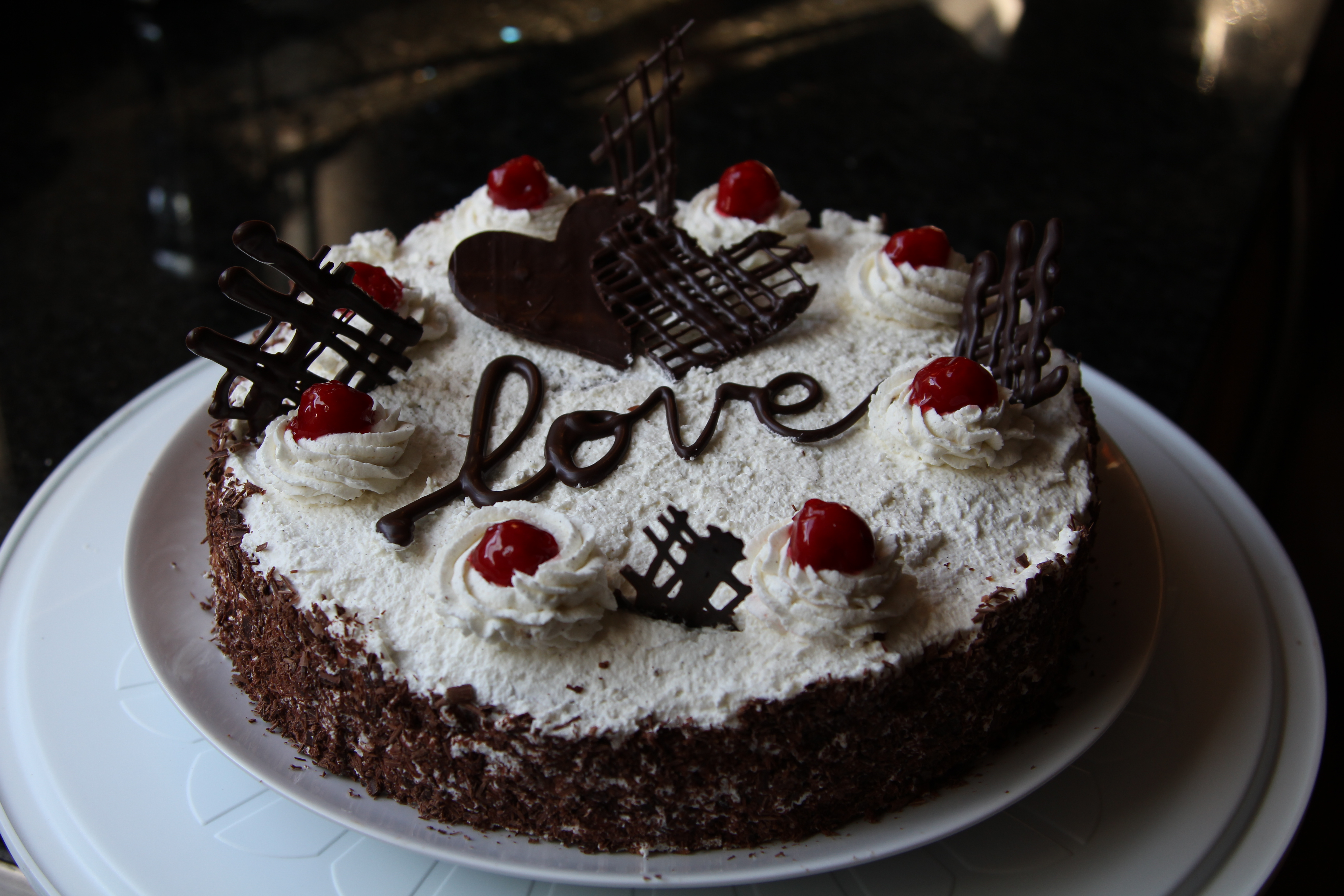Black Forest Cake With Cake Mix