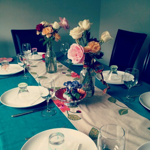 Mother s day lunch recipes cin cin let 39 s eat Simple table setting for lunch