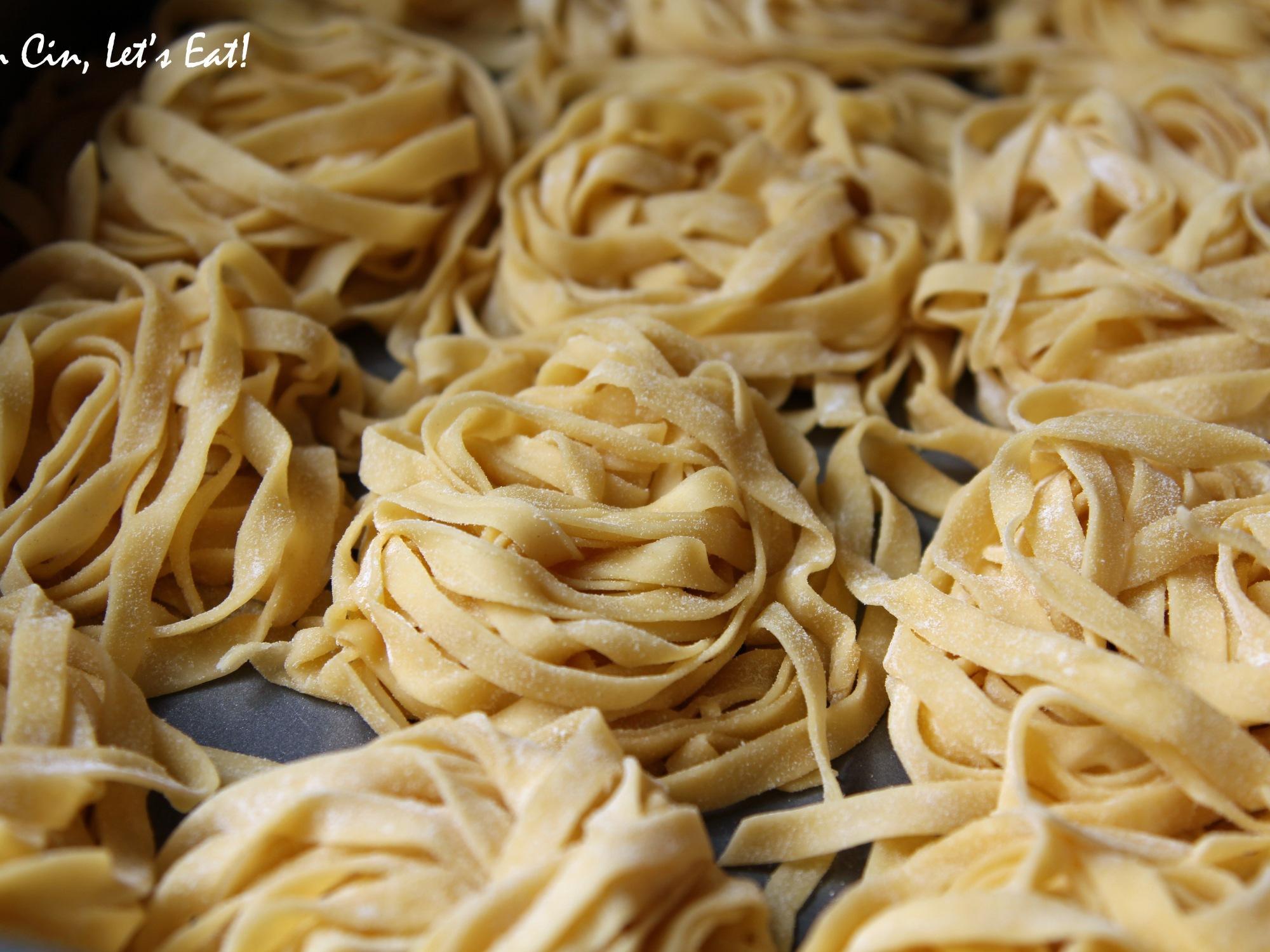 Fresh Pasta with Black Truffles [recipe] – Cin Cin, Let's Eat!