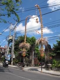 walking around in Seminyak
