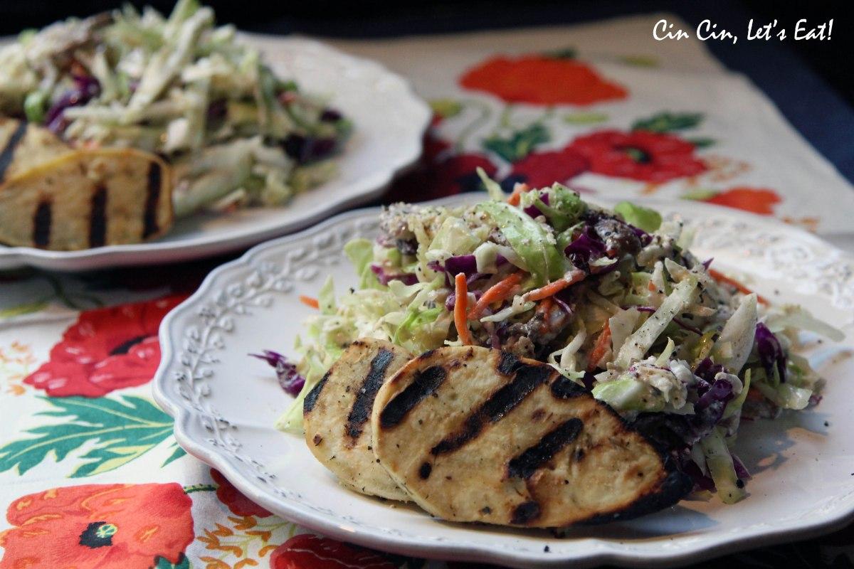 Warm Cabbage Salad [recipe] – Cin Cin, Let's Eat!