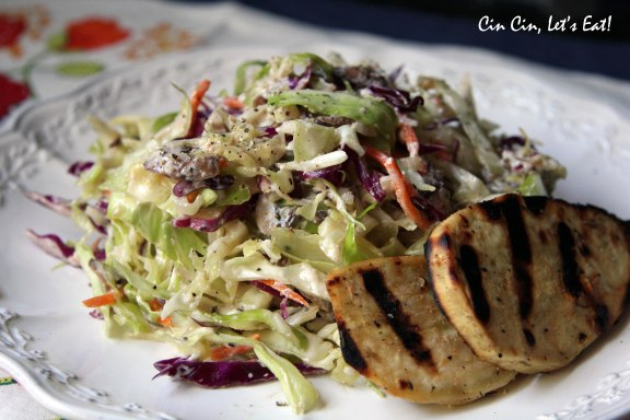 warm cabbage salad 3