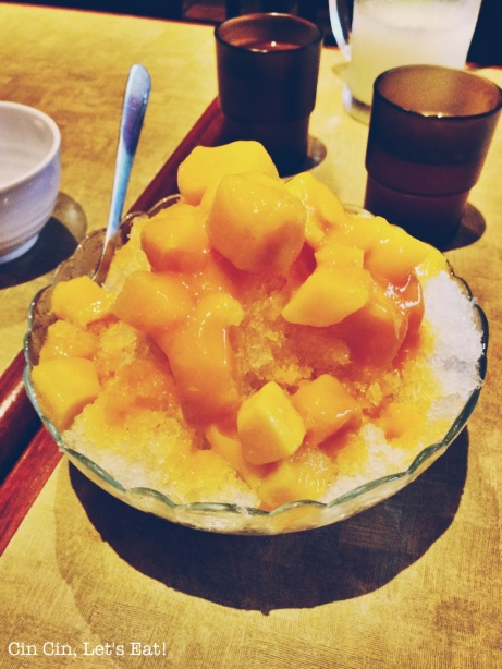 no1 beef noodle_mango shaved ice