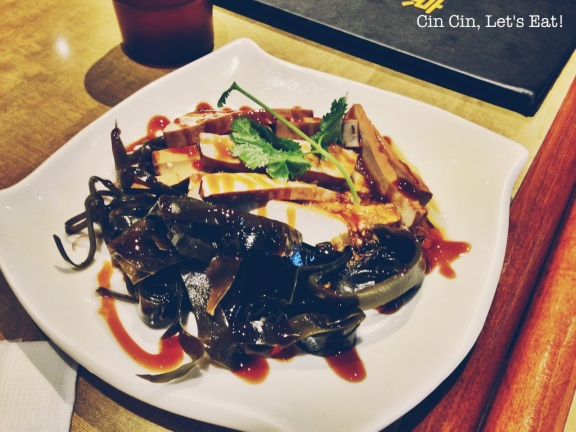no1 beef noodle_seawood tofu plate