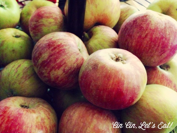 peach apple pie_apples
