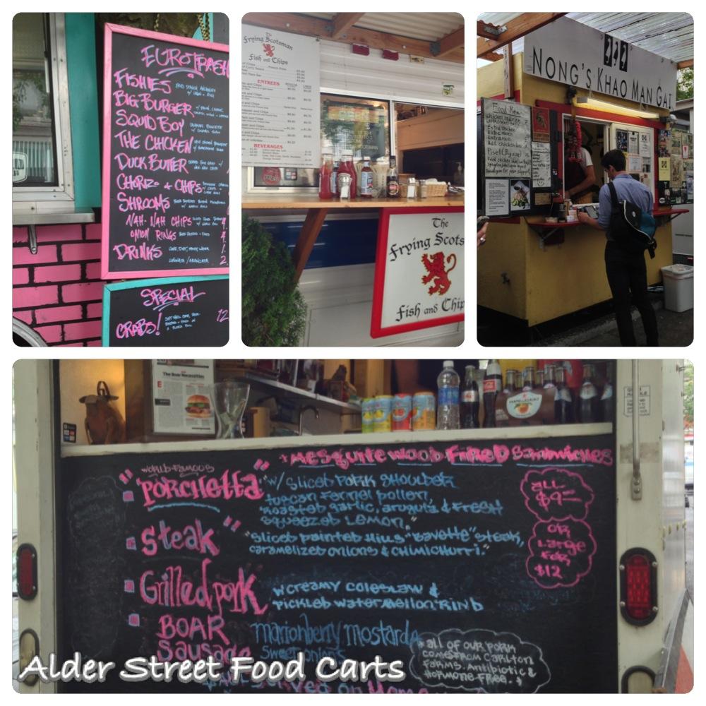 Thai Food Cart Portland Alder